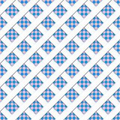 Blue seamless patten, vector illustration