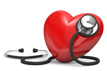 cuore con stetoscopio 2