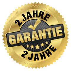 Garantie 2 Jahre