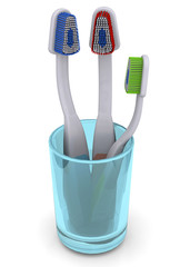 Toothbrush - 3D