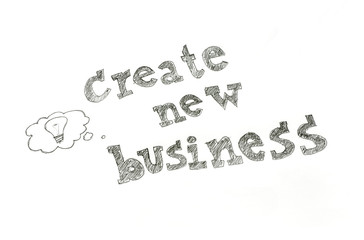 create new business concept