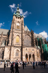 St. Vitus Cathedral facade