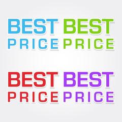 Best Price Colorful Vector Icon Design