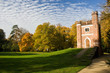 canvas print picture - Schlangenhaus in the Park Luisium, Dessau