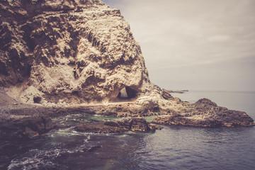Cave on the beach