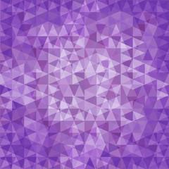 violet triangle background