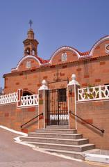 Orthodox church on the Greek island of Rhodes.