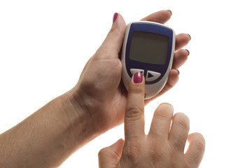 Diabetes equipment - Blood Sugar Test, good value
