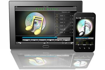 Tablet Smartphone Musica_001