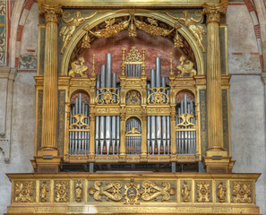 Seventeenth century, Italian,  church organ.