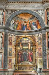 Italian church altar.