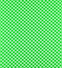 green plaid fabric texture
