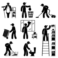 peoples cleaning
