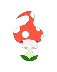 Mushroom-amanita