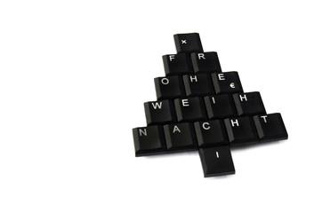 Weihnachten Tastatur