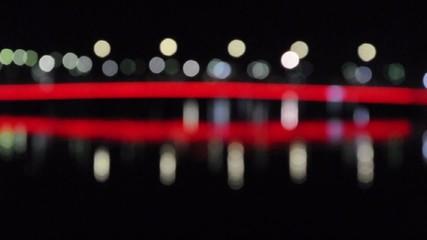 city lights - Stock Video