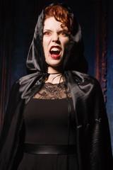 Angry woman vamp