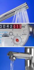 Collage Wasserverbrauch