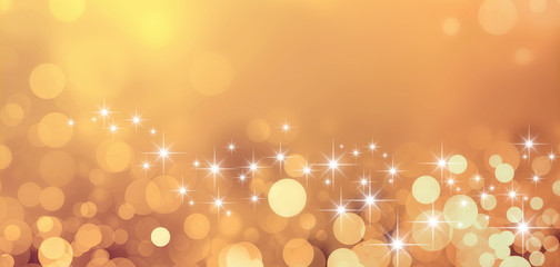 festive sparkling gold background