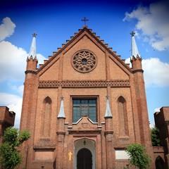 Architecture in Poland - Church in Kornik
