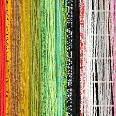 Colorful background - jewelry beads