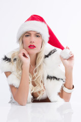 sexy Weihnachtsmädchen