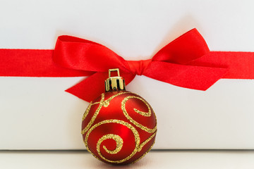 Christmas ornaments with Bow