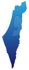 Israel in Blau