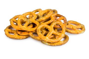 Bretzels with salt