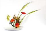 ikebana thai flower decoration