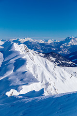 Range on the border of France and Switzerland