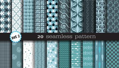 20 Seamless Pattern Set 2