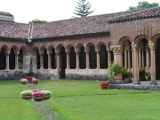 The monastery of the San Zeno basilica in Verona