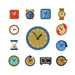 clocks icons
