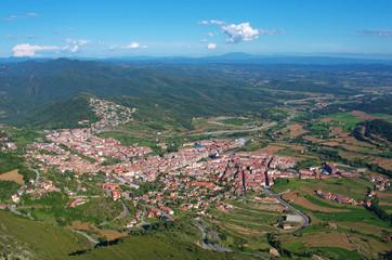 Berga area, Catalonia, Spain