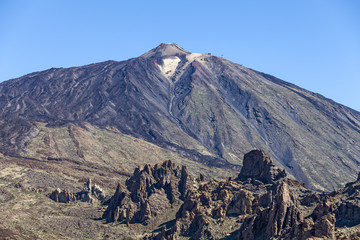 View of Teide. Tenerife. Spain.