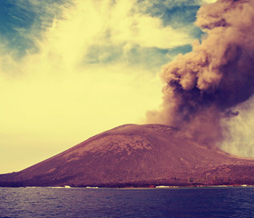 Anak Krakatau in  Indonesia