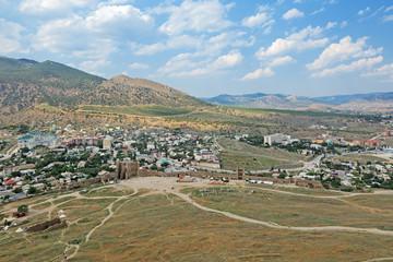 Sudak city, republic Crimea
