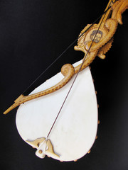 Gusle, old stringed instrument