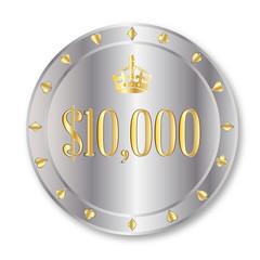 10000 Dollar Chip