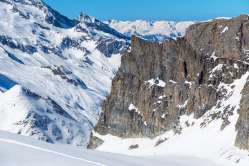 Rock. Tignes, France.