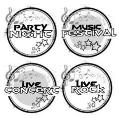 4 stamps live music