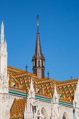Part of the Matthias Church, Budapest