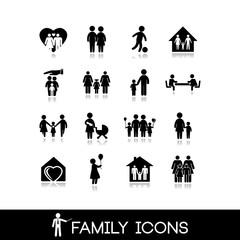 Family Icons - Set 1