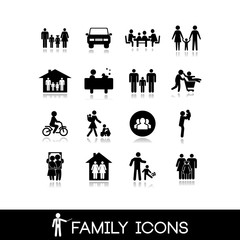 Family Icons - Set 2