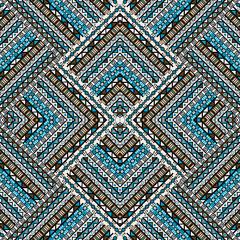 Ethno patchwork design