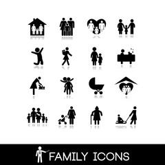 Family Icons - Set 7