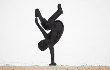 Silhouette breakdance