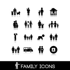 Family Icons - Set 8