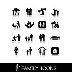 Family Icons - Set 9